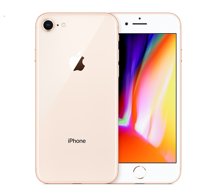 buy used Cell Phone Apple iPhone 8 64GB - Gold