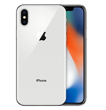 buy Cell Phone Apple iPhone X 256GB - Silver - click for details