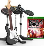 buy used Games Harmonix Rock Band 4 Band-in-a-Box Bundle for Xbox One