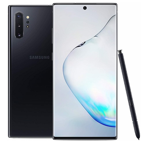 buy used Cell Phone Samsung Galaxy Note 10 Plus SM-N975U 256GB - Aura Black