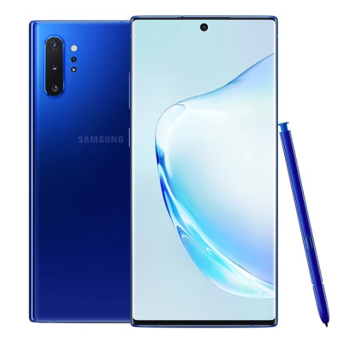 buy Cell Phone Samsung Galaxy Note 10 Plus SM-N975U 256GB - Aura Blue - click for details