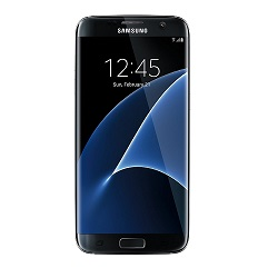 buy used Cell Phone Samsung Galaxy S7 Edge SM-G935A 32GB - Black Onyx