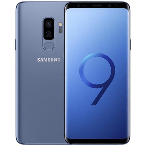 buy used Cell Phone Samsung Galaxy S9 Plus SM-G965U 64GB - Coral Blue