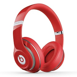 buy used Audio Headphones beats by dr. dre Beats Solo 2.0 On-Ear Headphones - Red